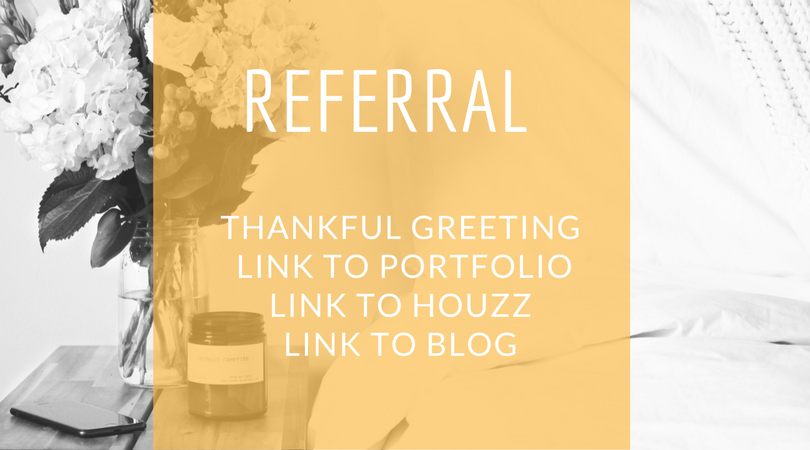 what to include in your referral email