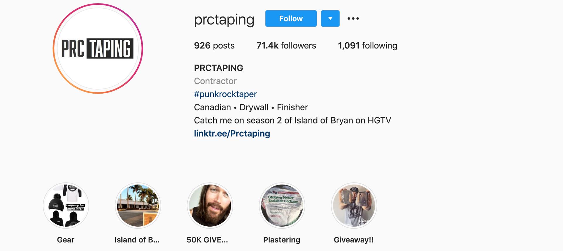 PRC-Taping-instagram-profile