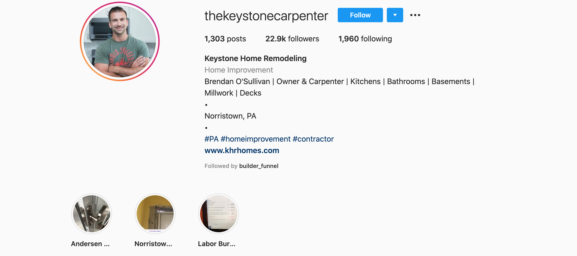 keystone-home-remodelin-instagram-profile