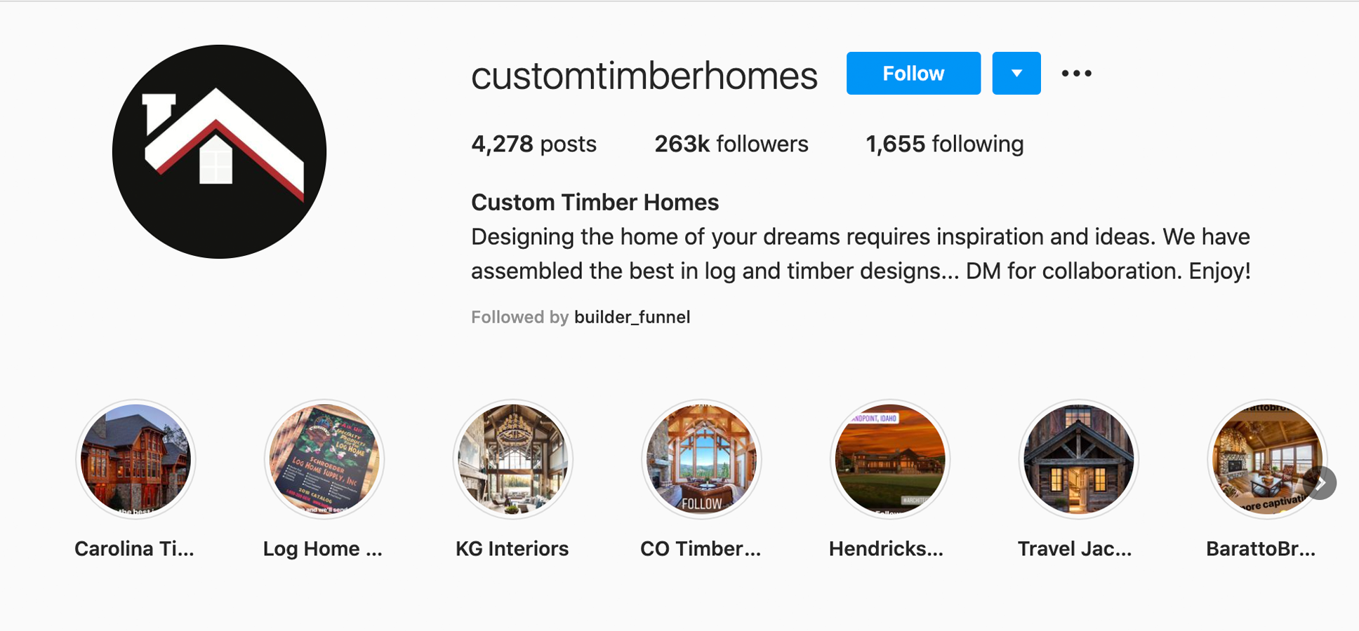 customtimberhomes-instagram-profile