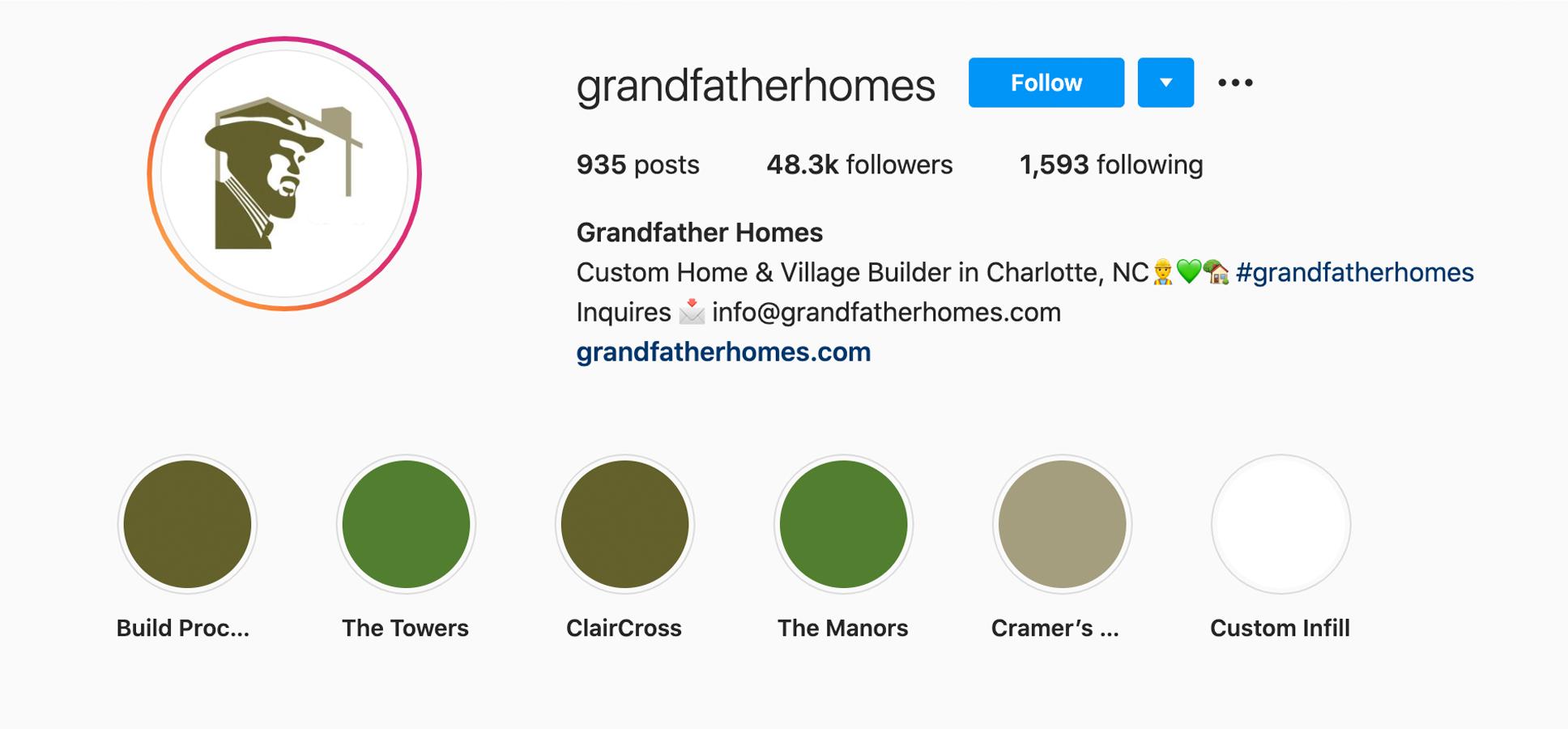 grandfatherhomes-instagram-profile