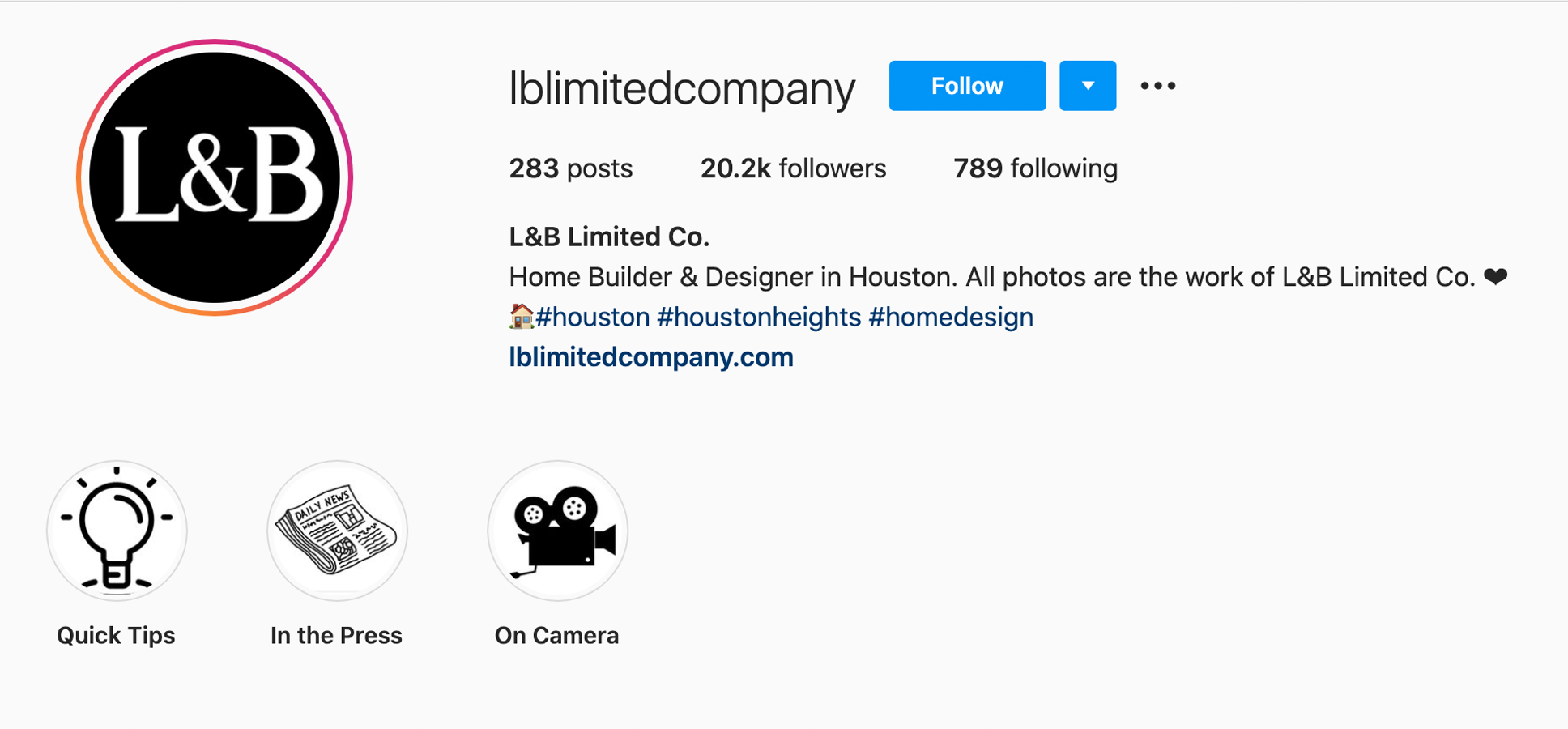 lblimitedcompany-instagram-profile
