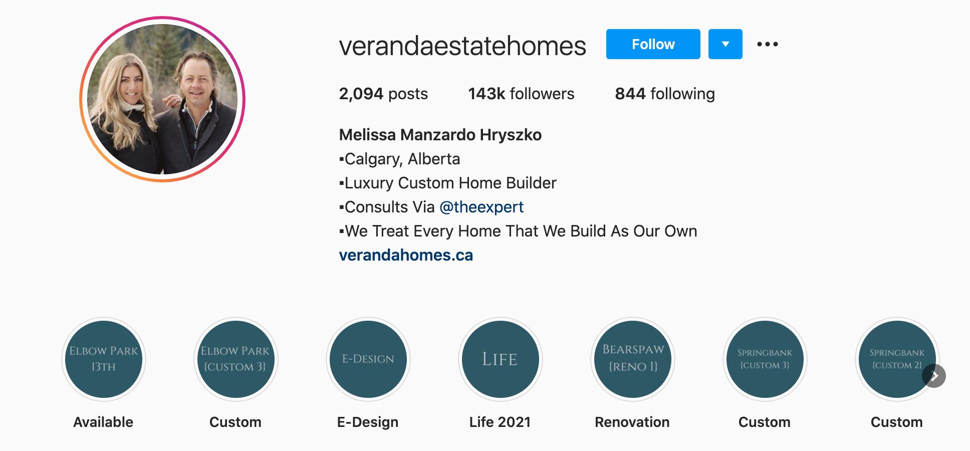 verandaestatehomes-instagram-profile