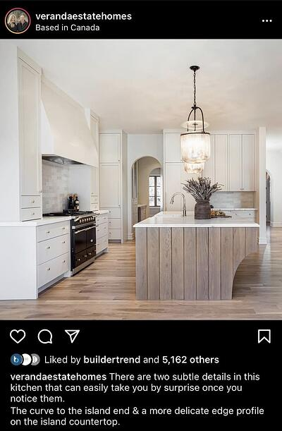 Instagram Post Ideas for Contractors, Remodelers, and Home Builders - Post Project Features
