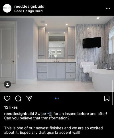 Instagram Post Ideas for Contractors, Remodelers, and Home Builders - Post Before and After Photos