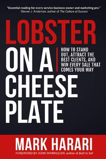 Lobster on a Cheese Plate Mark Harari