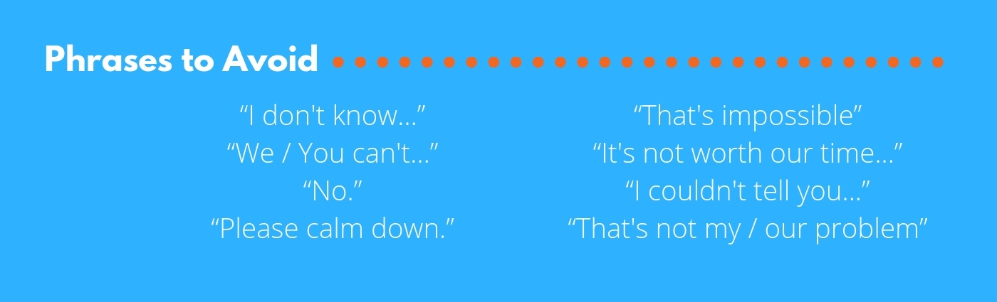 Phrases to Avoid