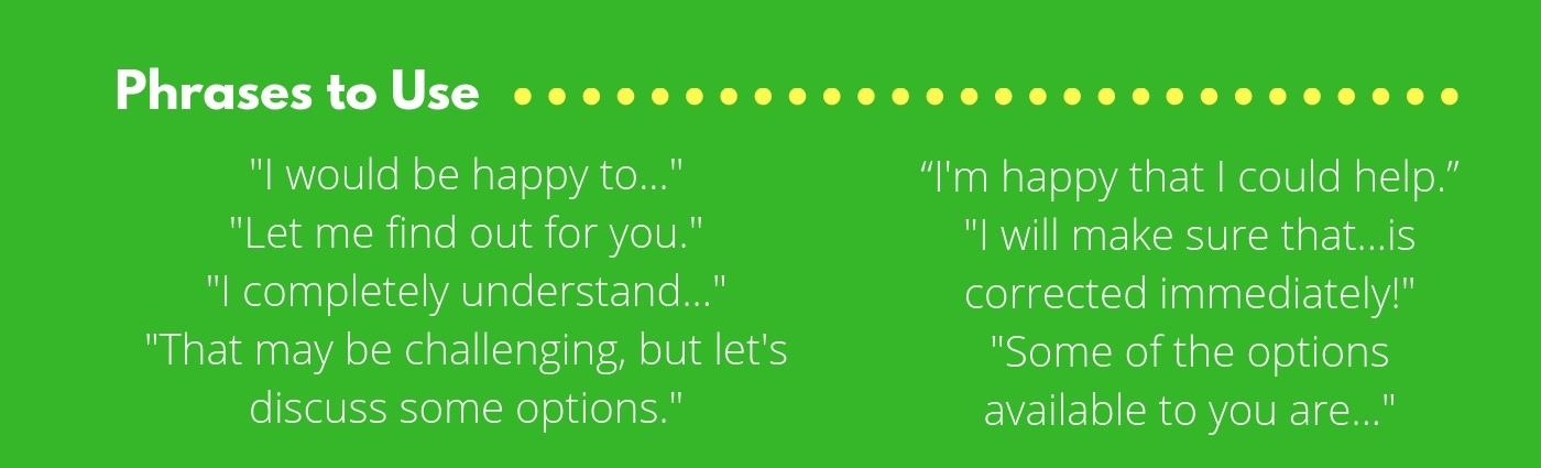 Phrases to Use