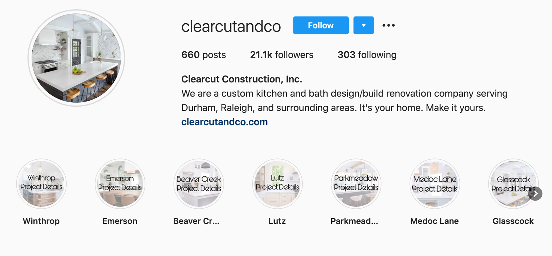 clearcut-construction-inc-clearcutandco-instagram-profile