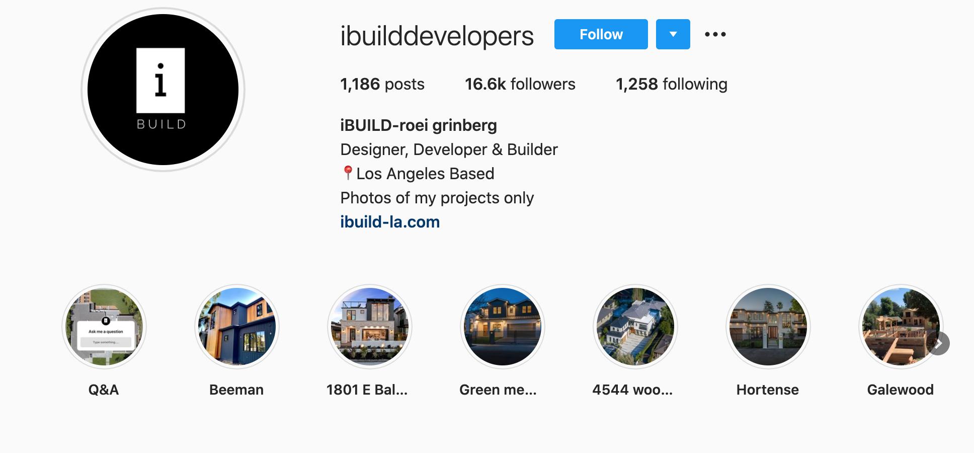 ibuild-roei-grinberg-ibuilddevelopers-instagram-profile