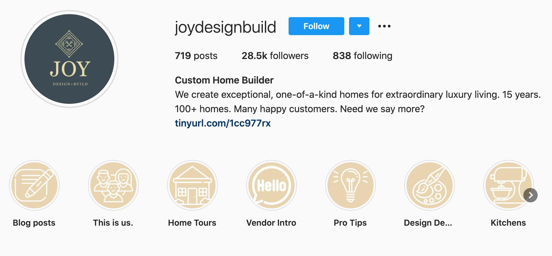 custom-home-builder-joydesignbuild-instagram-profile