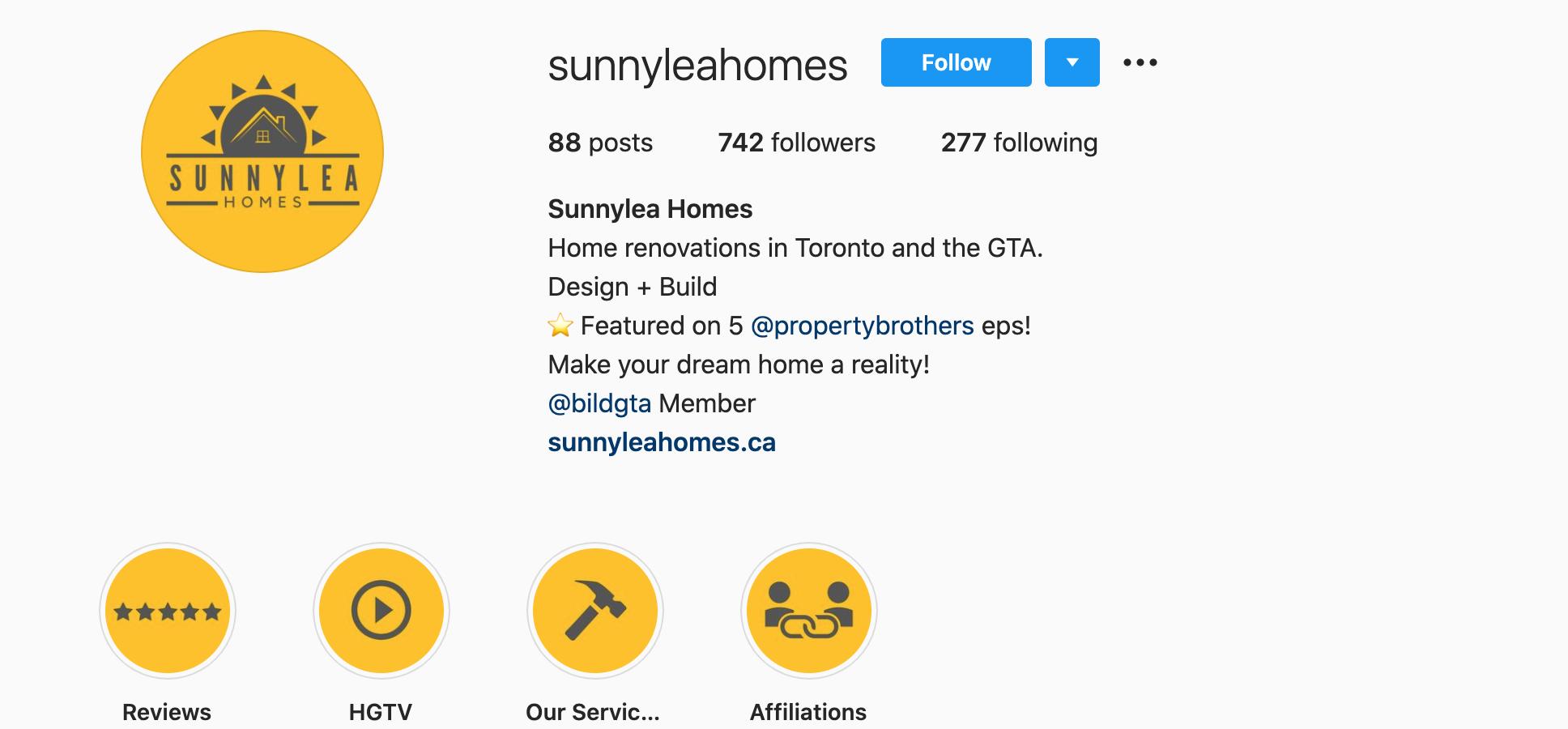 sunnylea-homes-sunnyleahomes-instagram-profile