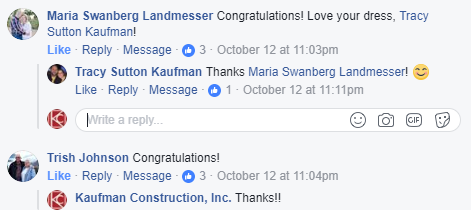 The Anatomy of the Perfect Facebook Post - Responding to Comments