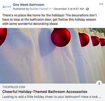 Facebook Post Idea for Remodelers, Contractors, and Home Builders - Seasonal Tips