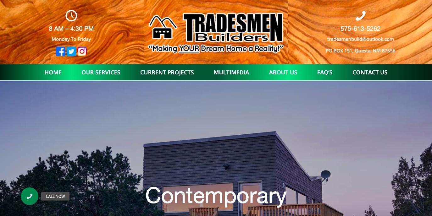 Taos-New-Mexico-Remodeler-Tradesmen-Builders